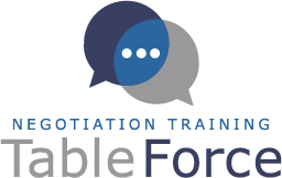 Negotiation Training by TableForce Logo